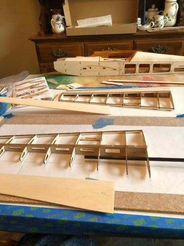 Richard J Balsa Build