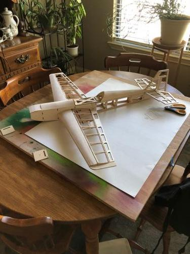 Richard J Balsa Build